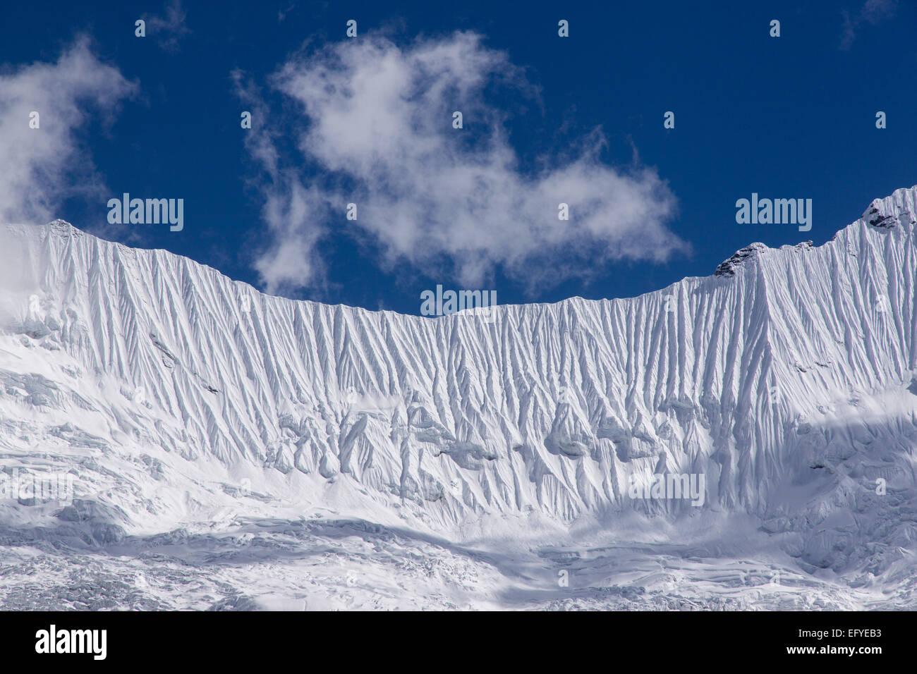 Kali Himal in the Khumbu region of the Himalayas of Nepal - Stock Image