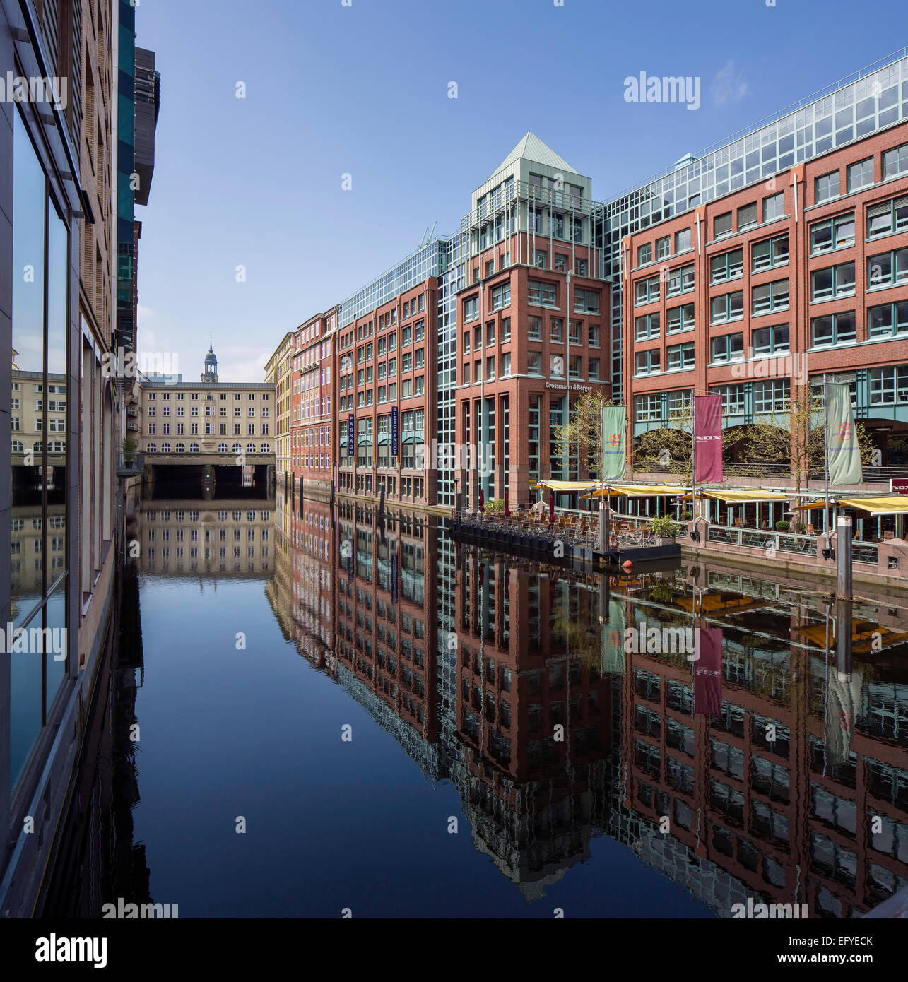Bleichenhof, office and commercial building, Hamburg, Germany Stock Photo