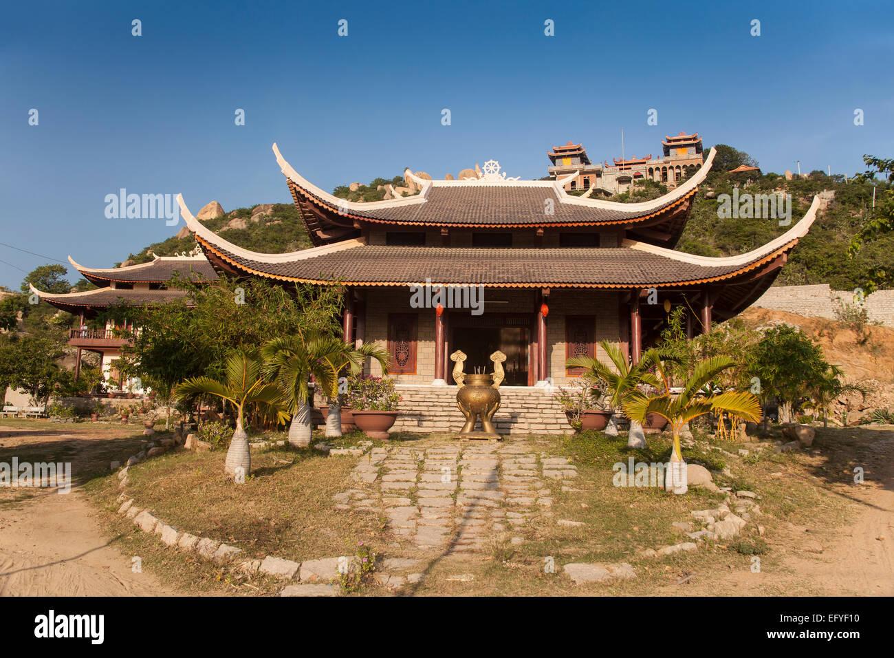 Thien Vien Truc Lam Pagoda, Phan Rang, Ninh Thuan, Vietnam - Stock Image