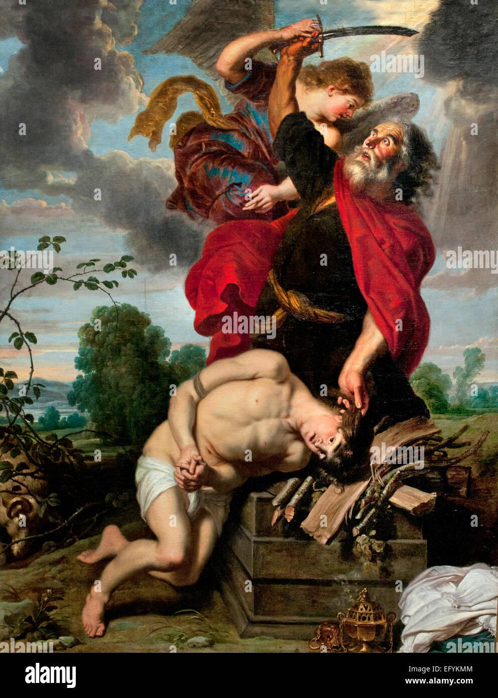 The Sacrifice of Abraham 1631 Cornelis de Vos 1584-1651 and Jan Wildens  Flemish Belgian - Stock Image