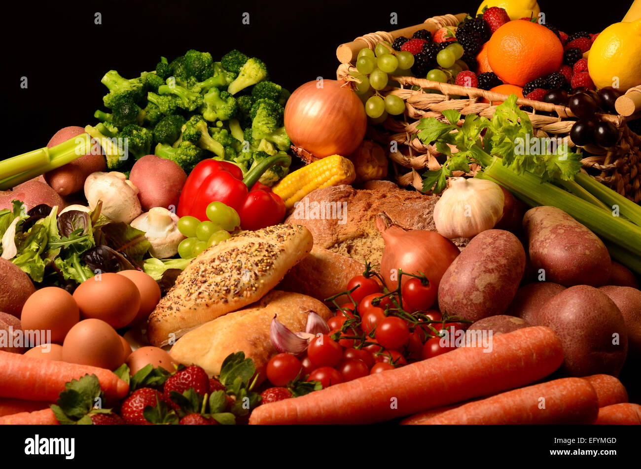 Healthy Food - Stock Image