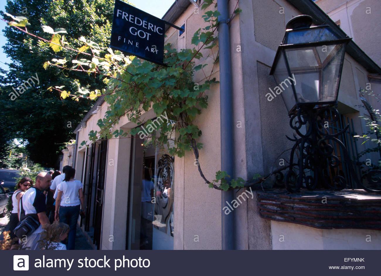 Barbizon, Seine et Marne, The Got gallery - Stock Image