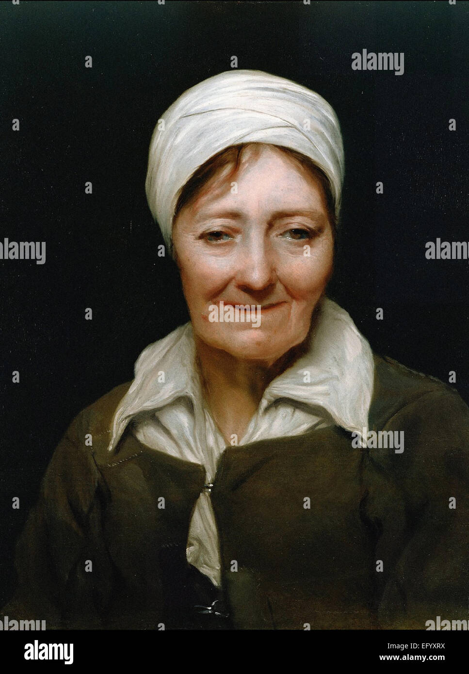 Michael Sweerts  The Head of a Woman - Stock Image