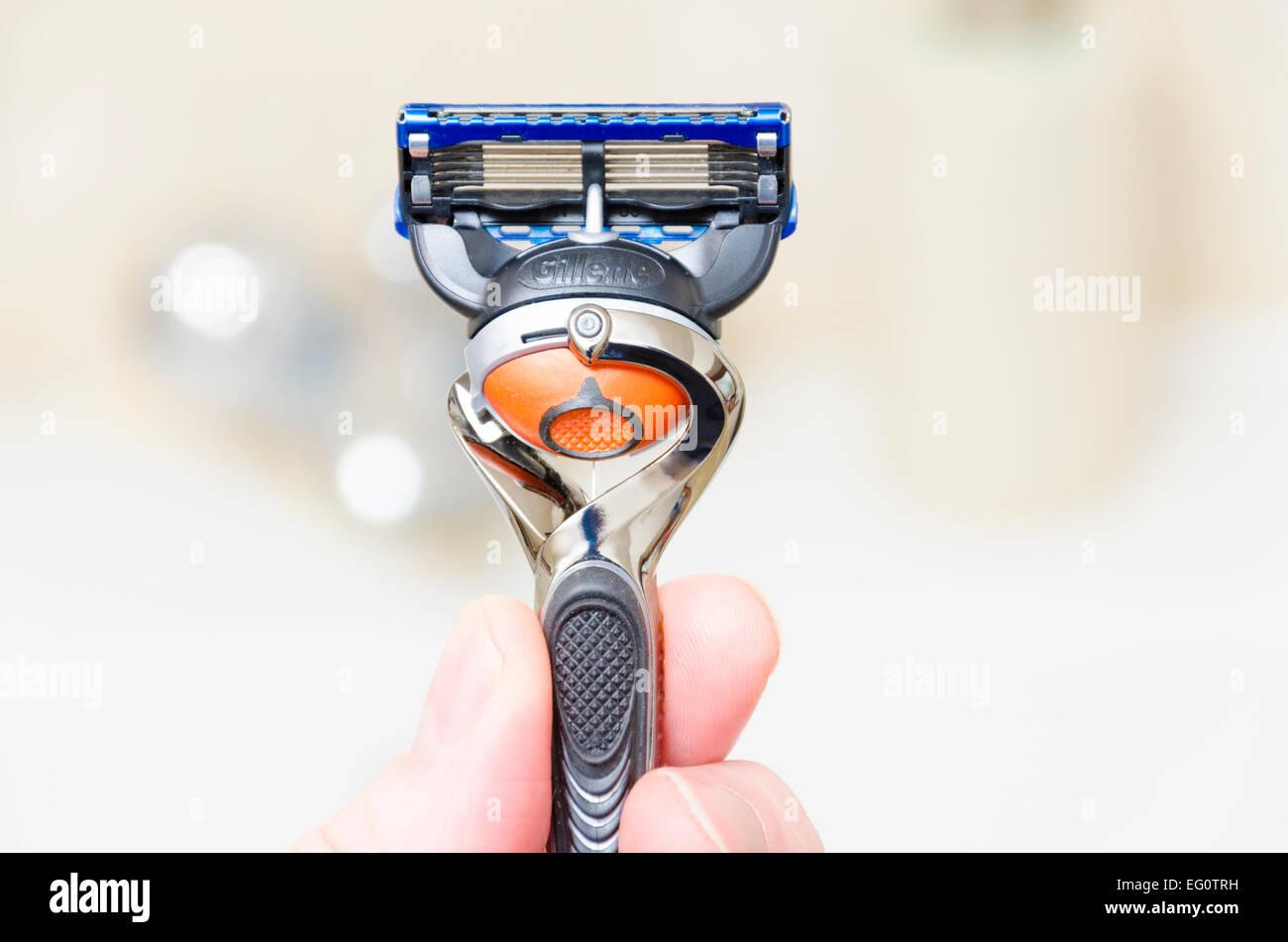 Gillette ProGlide FlexBall razor - Stock Image