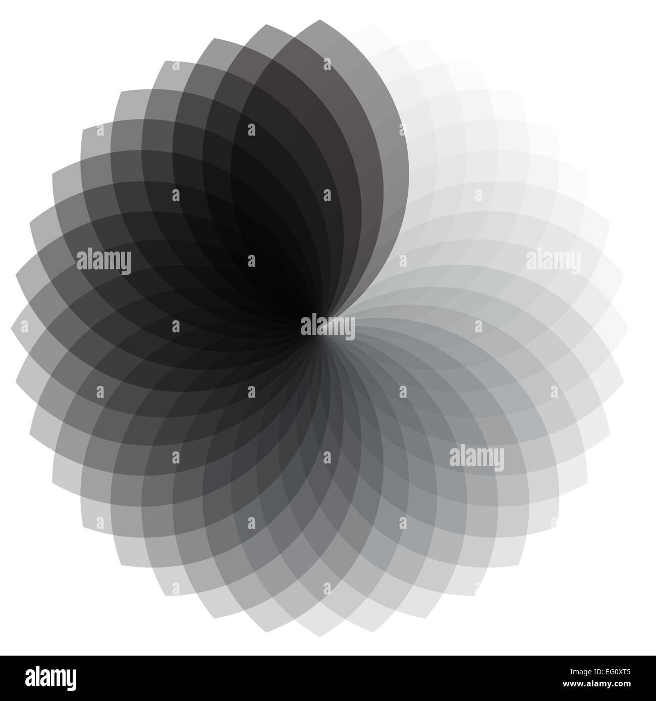 Black And White Color Wheel Stock Vector Art Illustration Vector