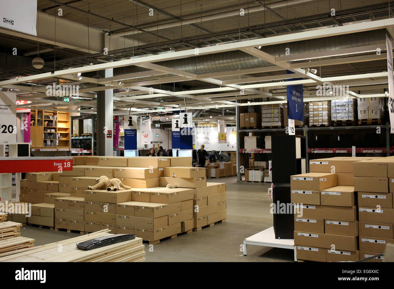 Charmant Self Service Activity Area At IKEA Store In Lakeside, Thurrock Essex  England Uk
