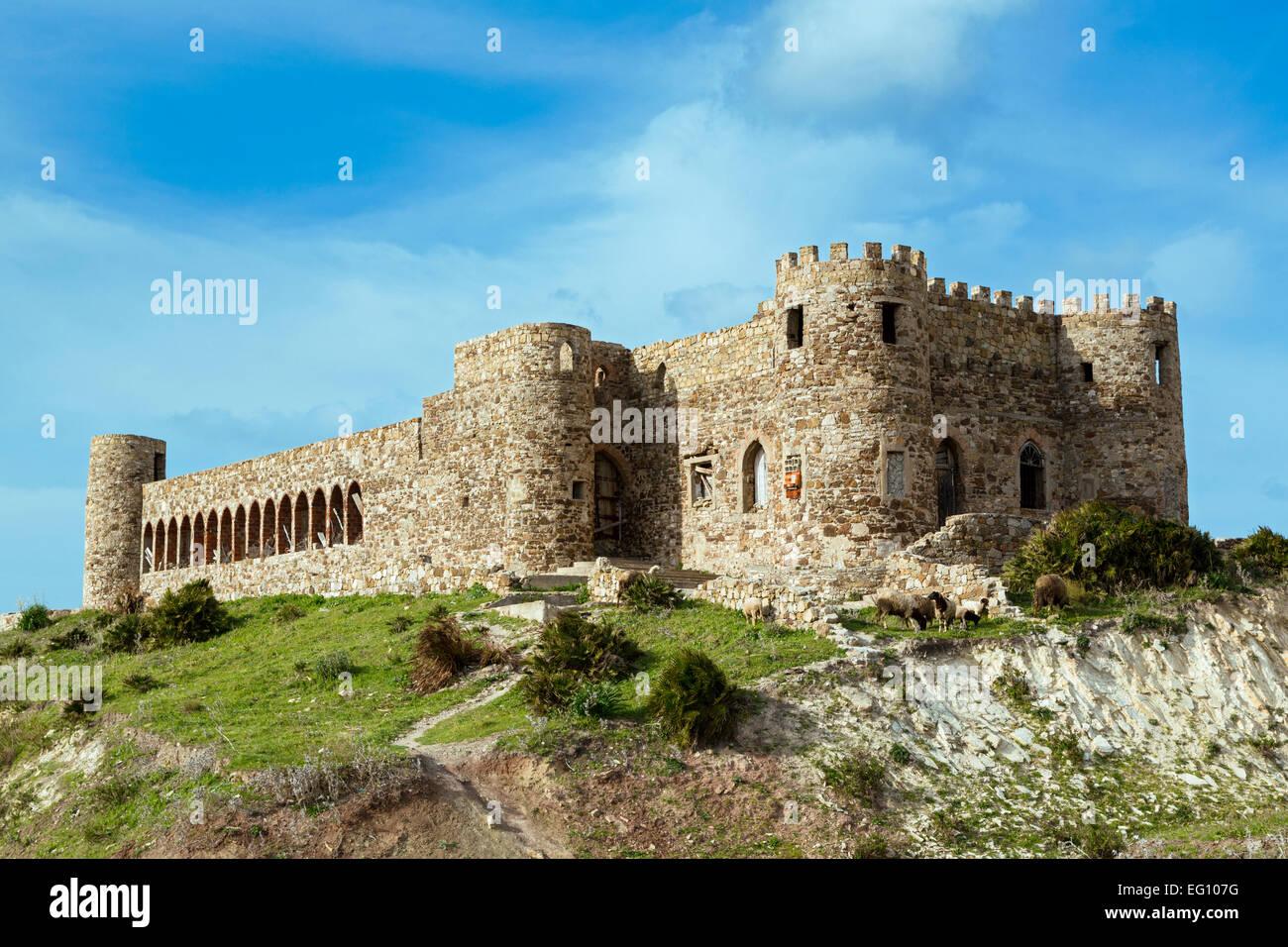 Medieval Castel, Mna, Tangier,Morocco - Stock Image