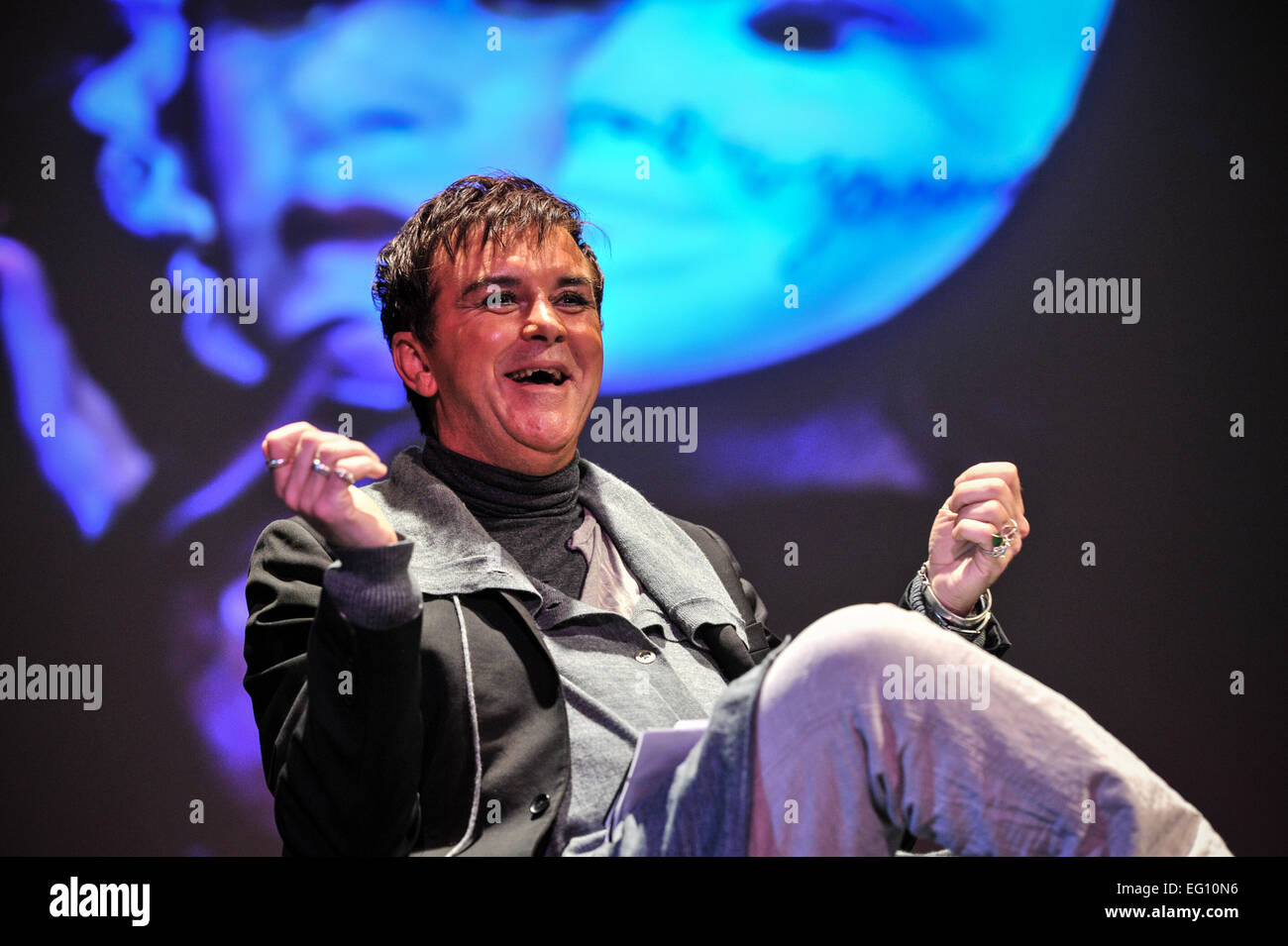 FILE PIC: Southampton, UK. 27th February, 2013. Steve strange, lead singer of 1980s pop band Visage who has died - Stock Image