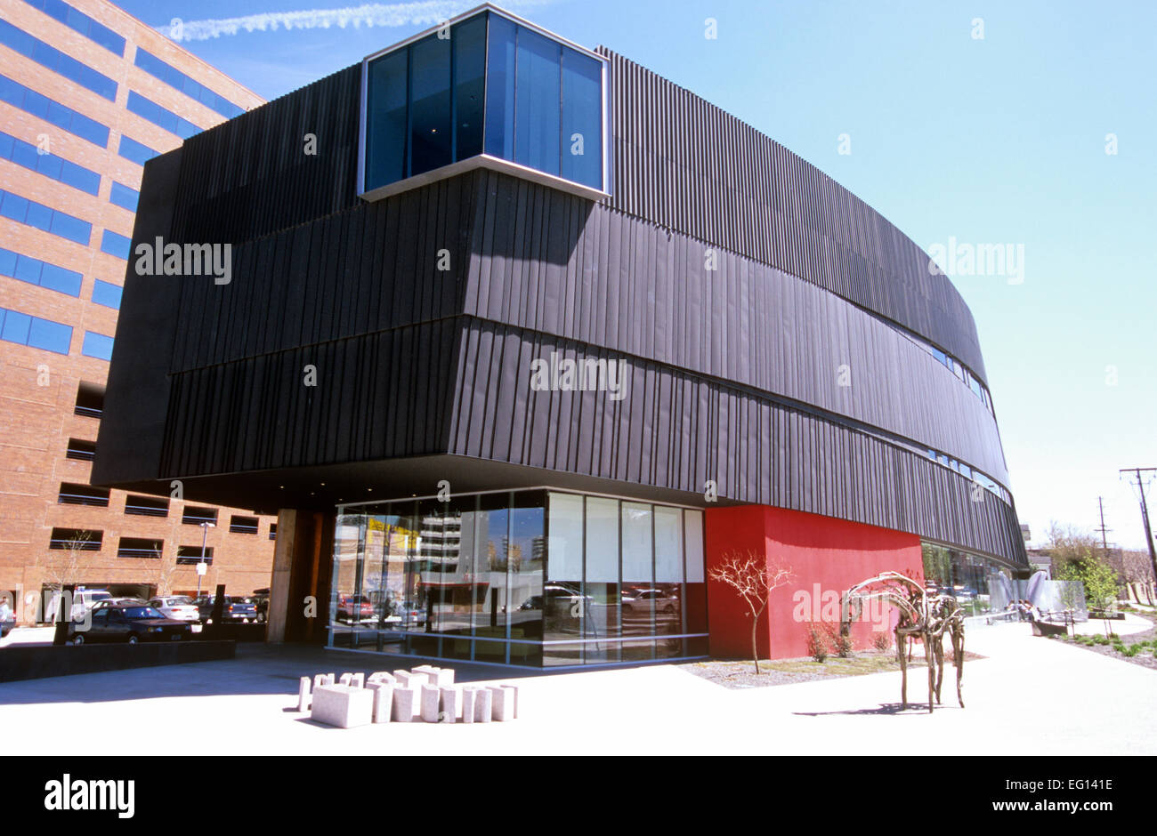 Reno S Dramatic New Nevada Museum Of Art Building Was Inspired By A Stock Photo Alamy