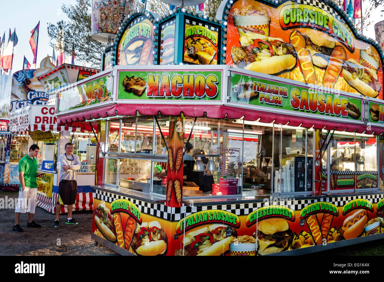 Carnival Vendor Midway Stock Photos Amp Carnival Vendor