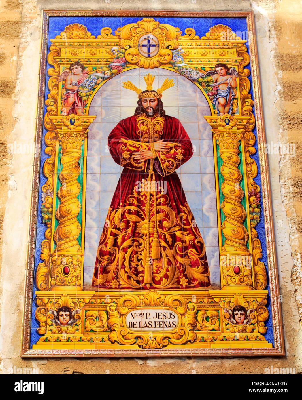 Retablo stock photos retablo stock images alamy for Azulejos cadiz