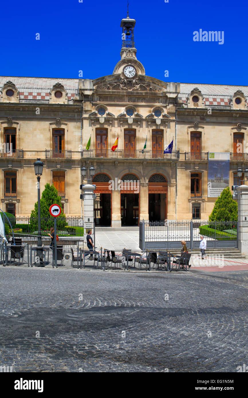 Diputacion provincial building, Jaen, Andalusia, Spain - Stock Image
