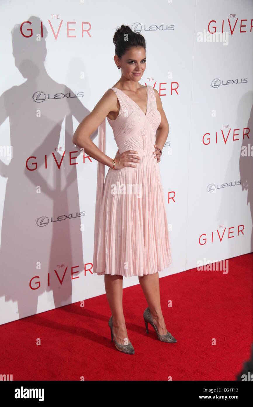 879e7fb8a10 New York Premiere of  The Giver  at Ziegfeld Theater - Arrivals Featuring   Katie