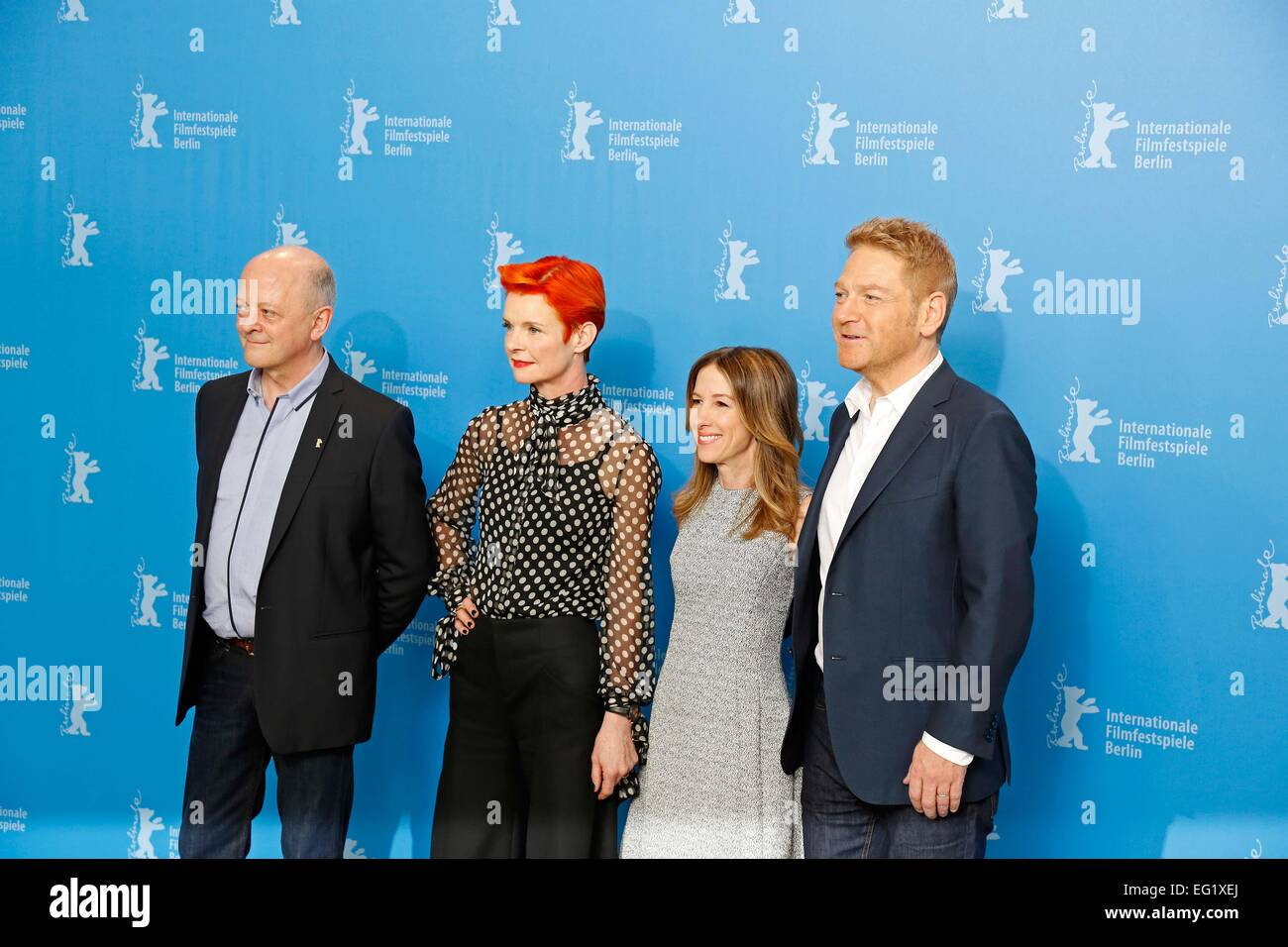 Berlin, Ca, Germany. 13th Feb, 2015. David Barron, Sandy Powell ...