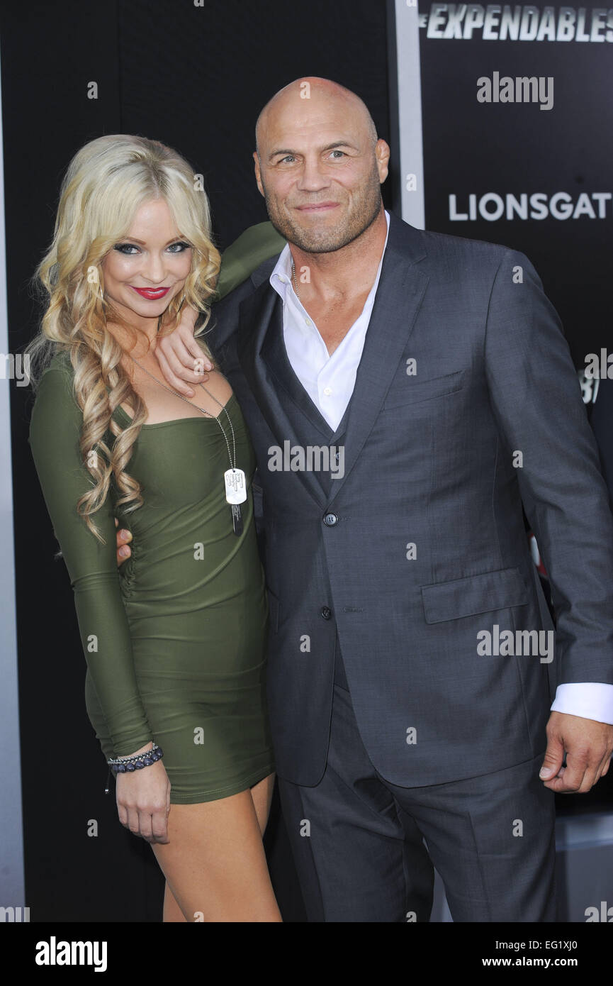 Los Angeles premiere of 'The Expendables 3' at TCL Chinese Theatre - Arrivals  Featuring: Randy Couture Where: Los Stock Photo