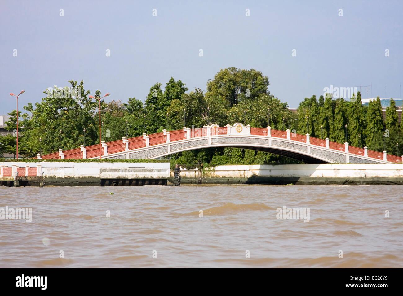 Sanghi-bridge, Bangkok, Thailand, Asia - Stock Image