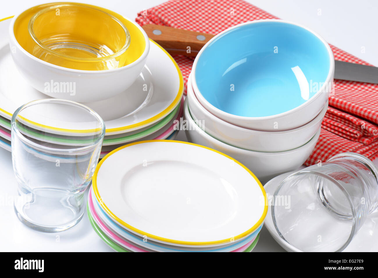 Dinner Plates Stock Photos Dinner Plates Stock Images Alamy
