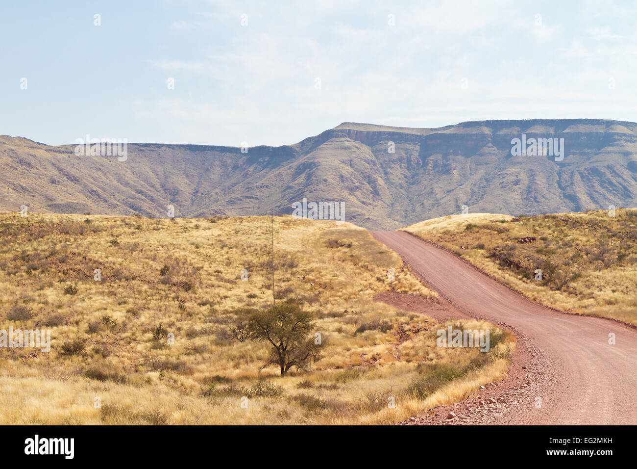 Tsaris Pass, Namibia - Stock Image