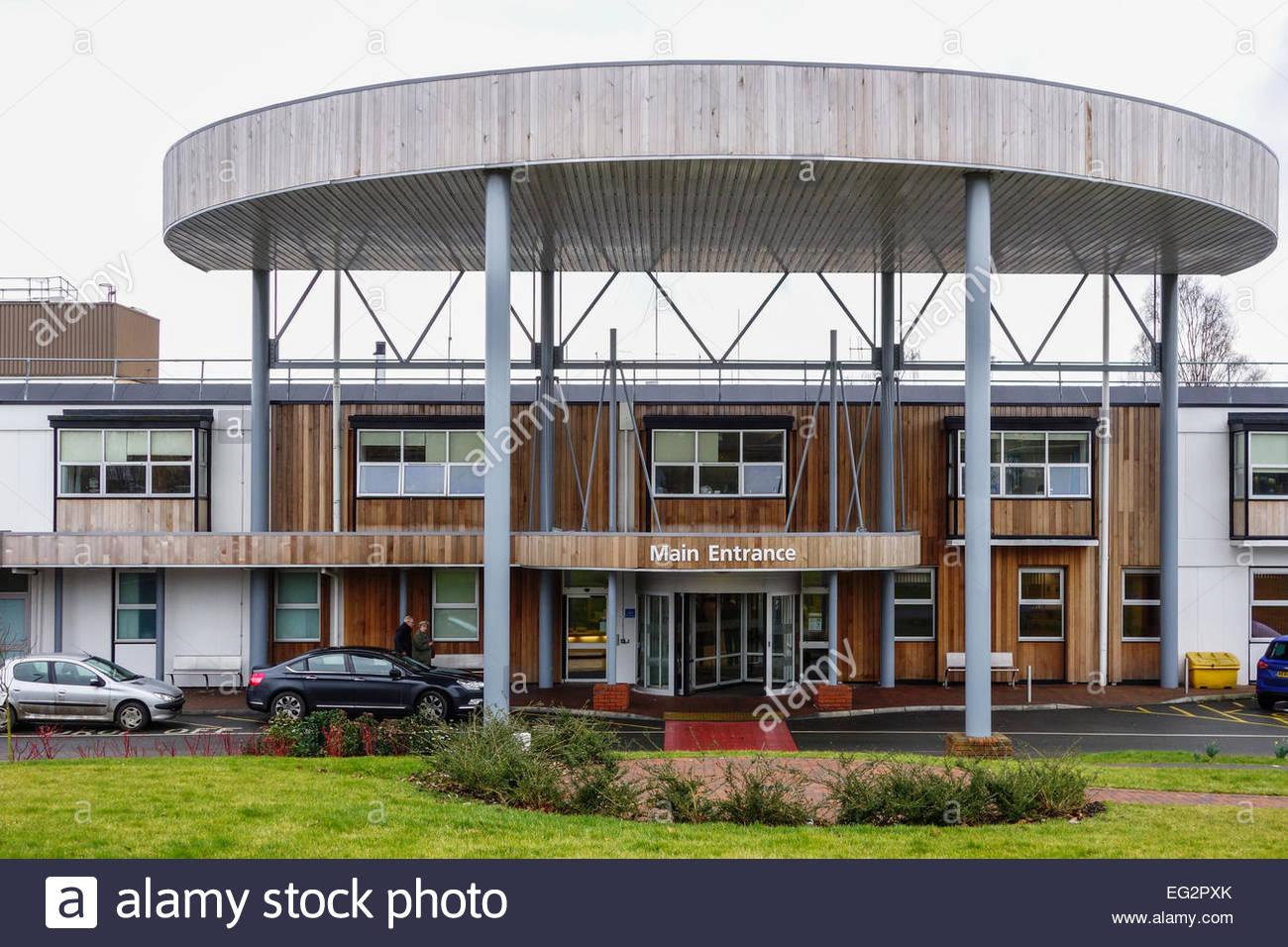 Hinchingbrooke Hospital, part of the Hinchingbrooke Hospital Trust, run by private company Circle - Stock Image