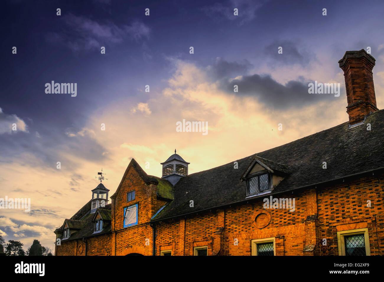 ancient, architecture, aristocracy, aristocratic, beautiful, beauty, britain, british, building, buildings, class, - Stock Image