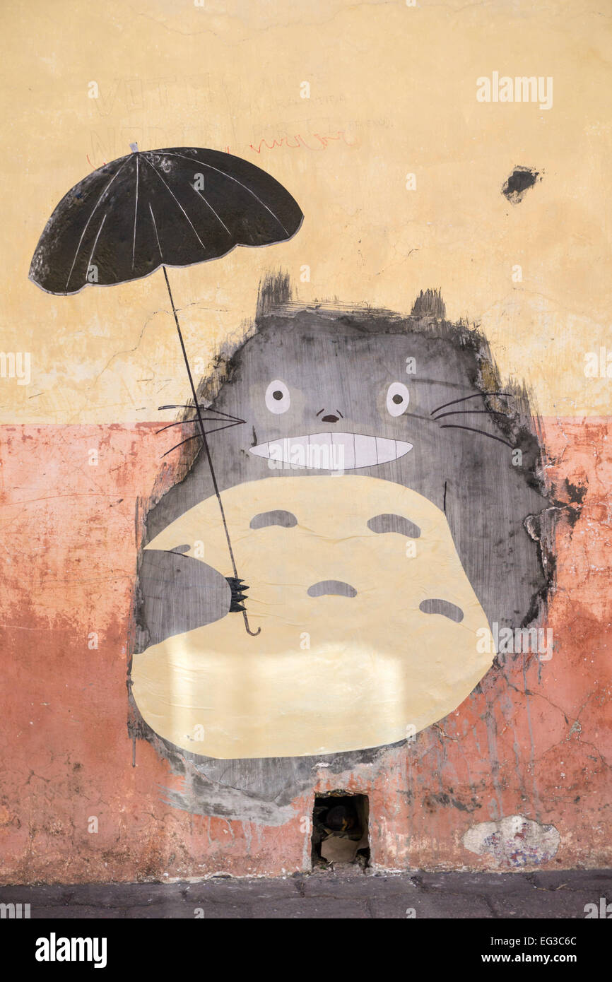 Mythical Tortoro Anime Waits For Mouse To Come Out Of Real Hole In