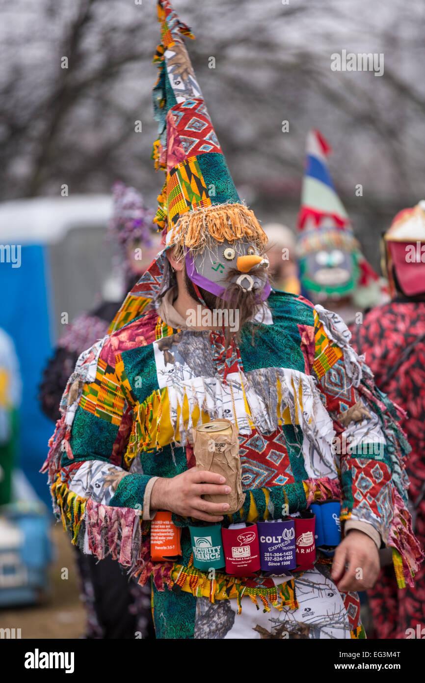 Cajun Mardi Gras Mask