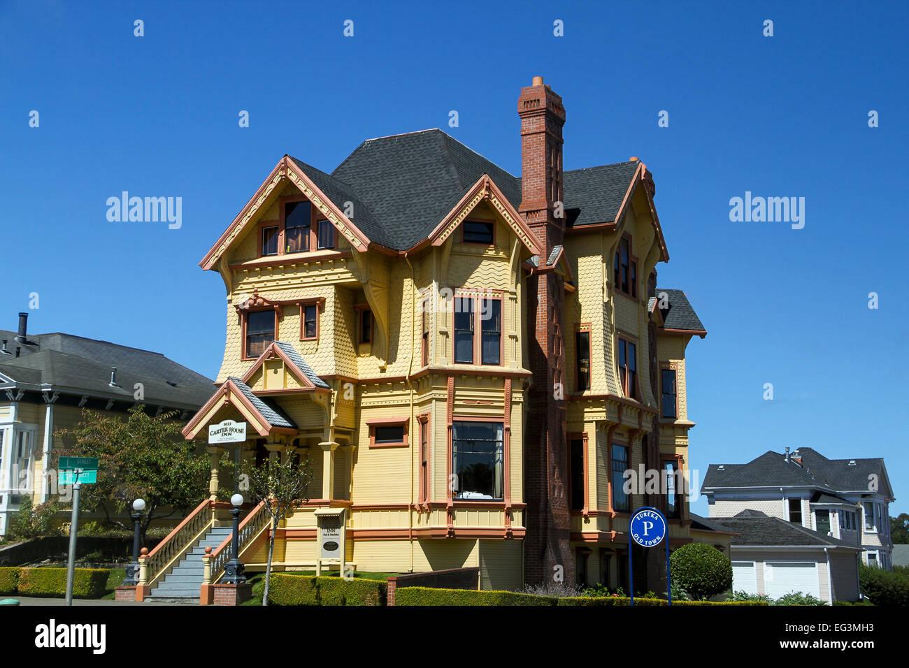 The Carter House Inn, Eureka, California - Stock Image