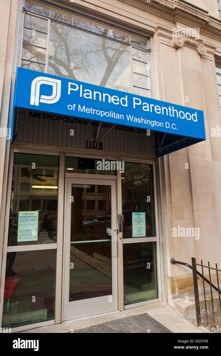 Planned Parenthood National Office - Washington, DC USA - Stock Image