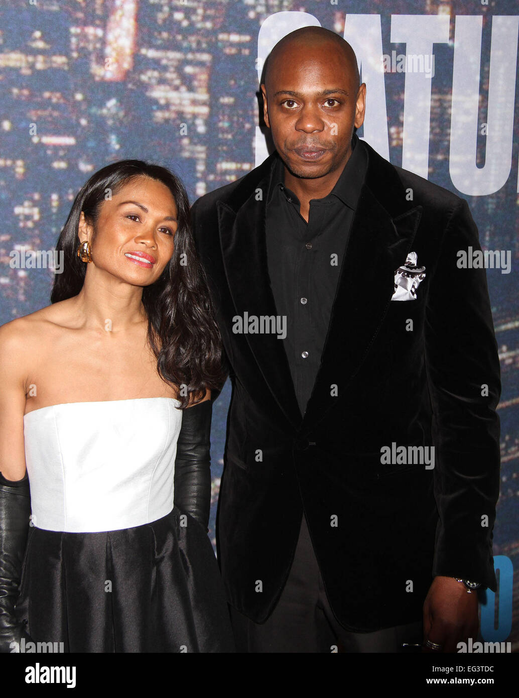 new york new york usa 15th feb 2015 actor dave chappelle and his stock photo alamy https www alamy com stock photo new york new york usa 15th feb 2015 actor dave chappelle and his wife 78761016 html