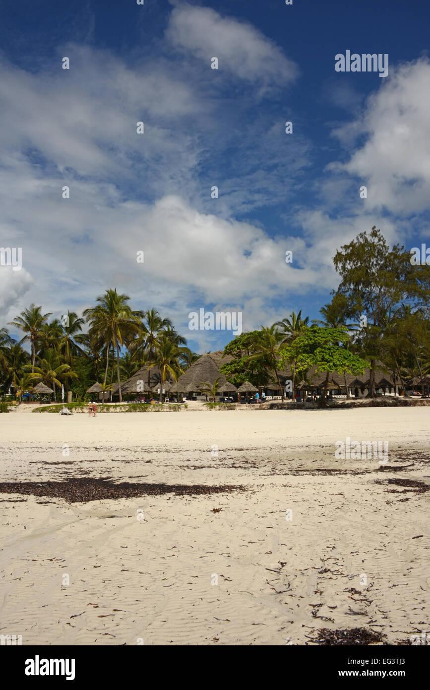 Turtle Bay resort near Watamu in Kenya, East Africa - Stock Image