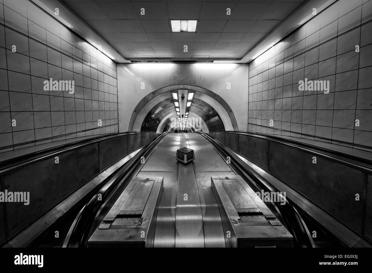 Bank Underground Station - Stock Image