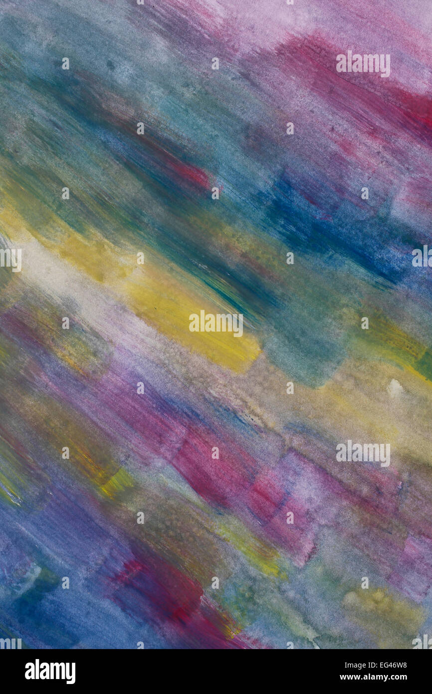 Painting, tempera, watercolours - Stock Image