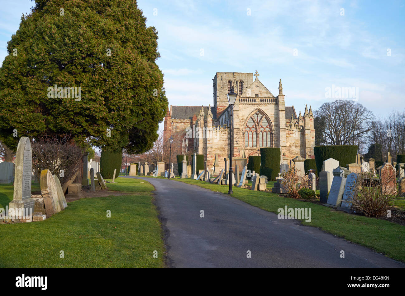 SAINT MARY'S CHURCH, HADDINGTON, SCOTLAND, CHURCH OF SCOTLAND, KIRK - Stock Image