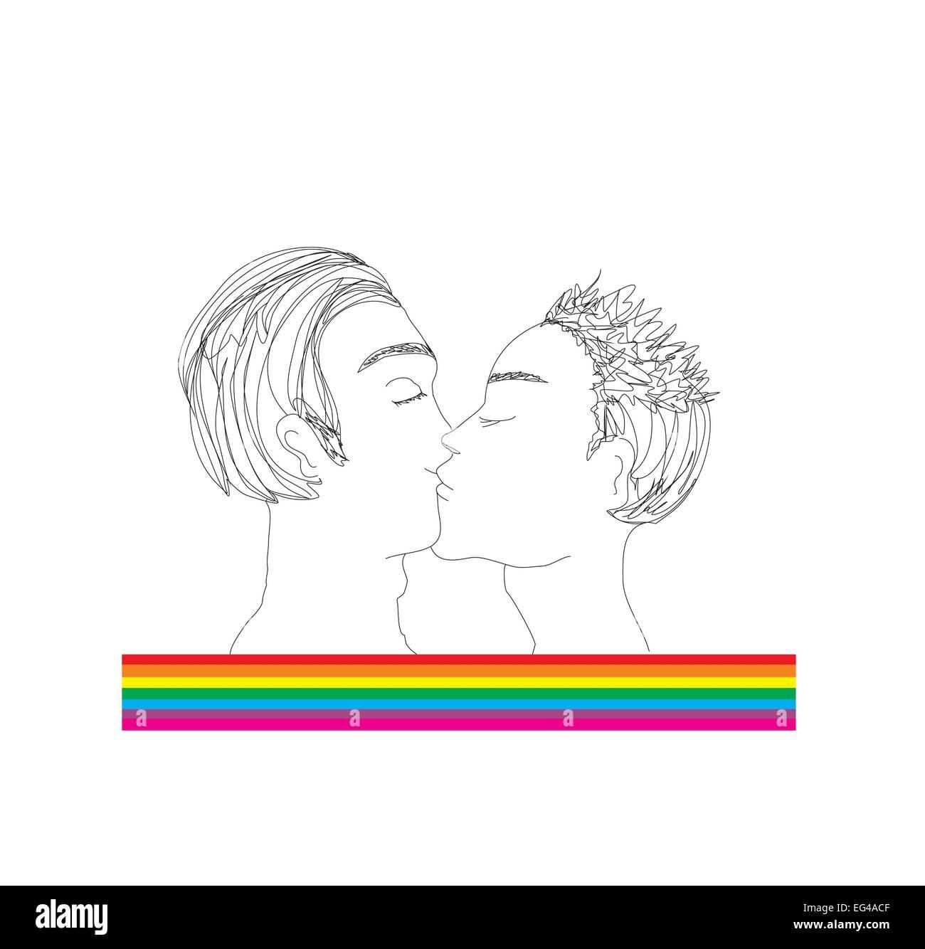 Love Flirting Gay Stock s & Love Flirting Gay Stock Alamy