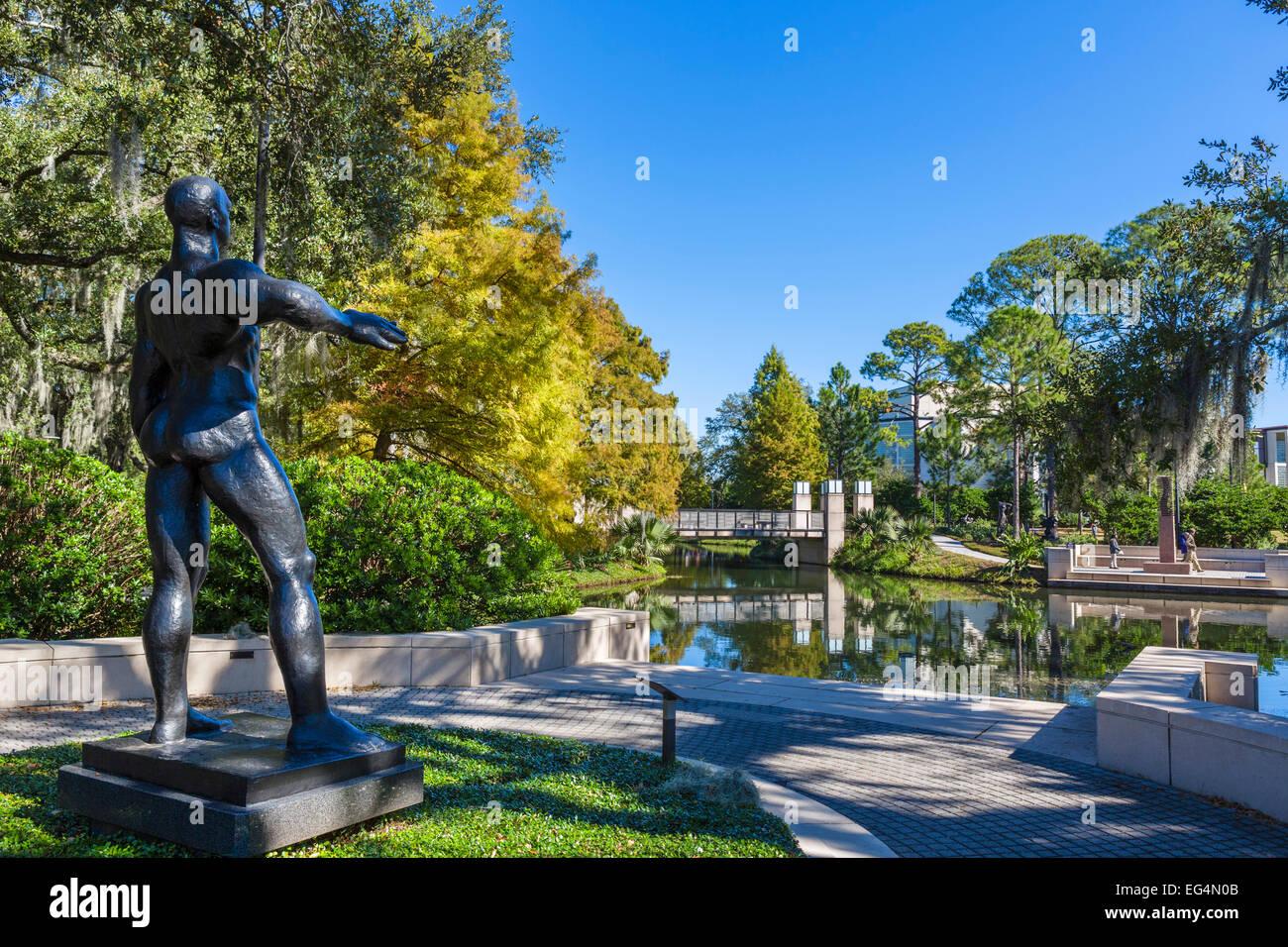 Sculpture Garden with Gaston Lachaise\'s \