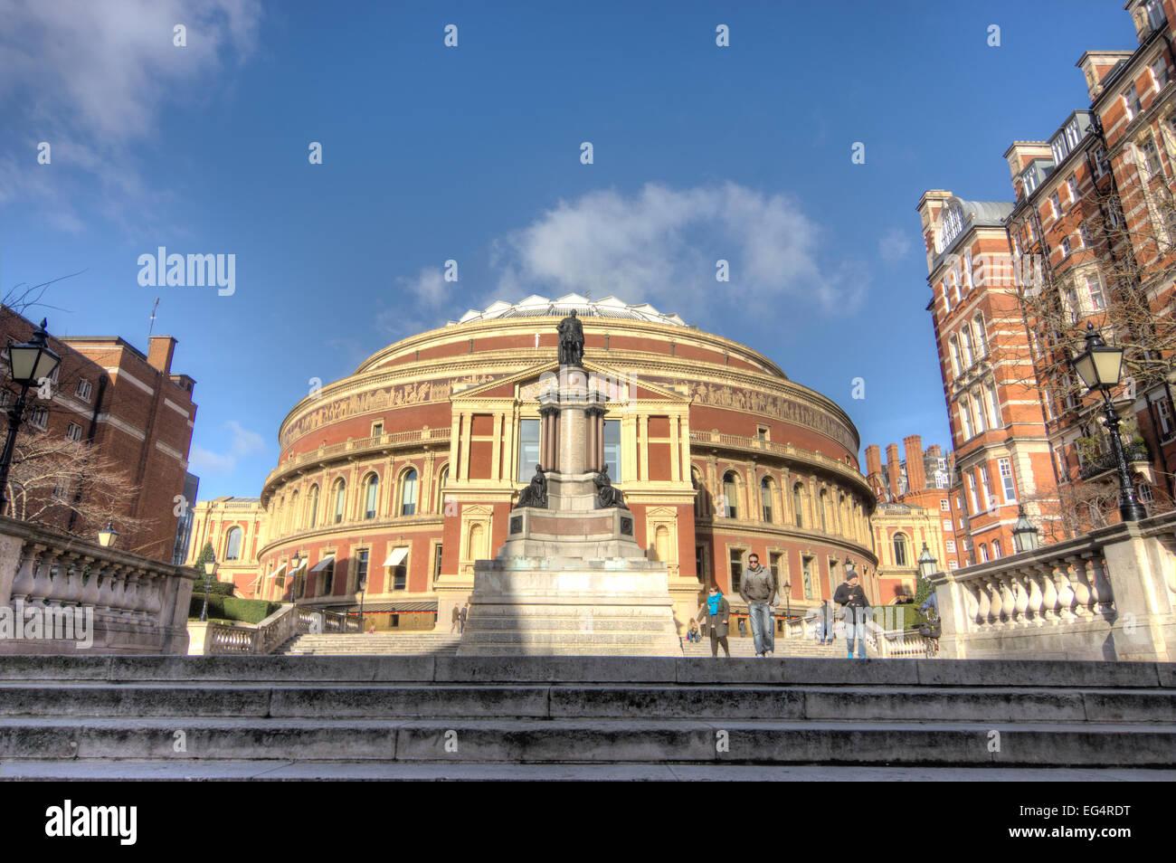 royal albert hall London - Stock Image