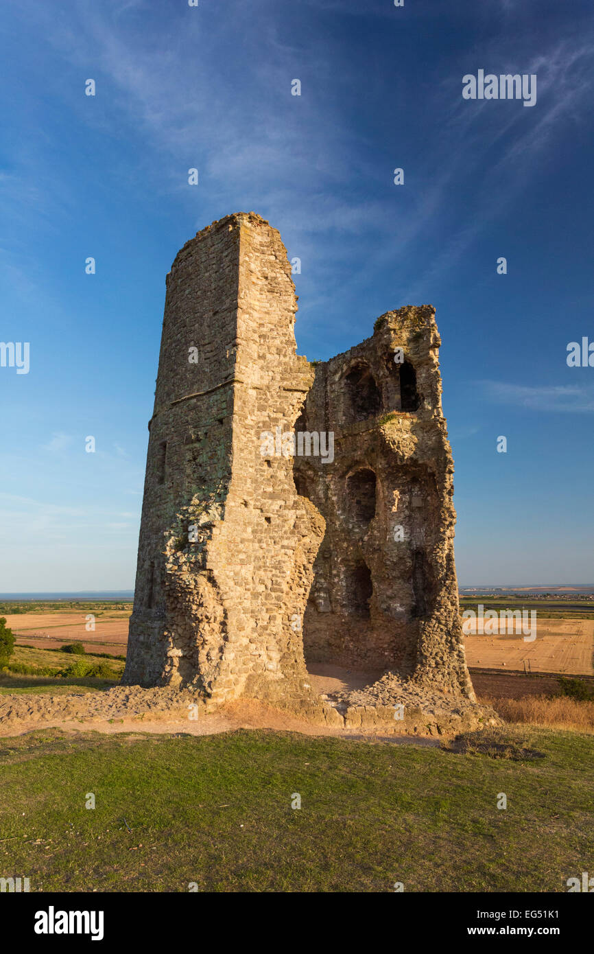 Hadleigh Castle in Essex, UK - Stock Image