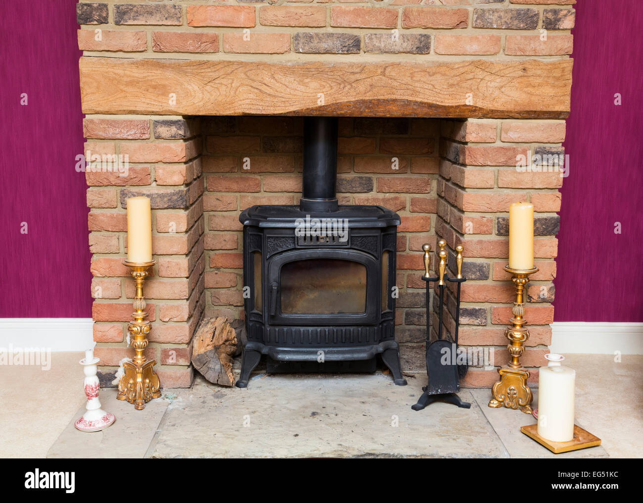 Cast Iron Fireplace Stock Photos Amp Cast Iron Fireplace