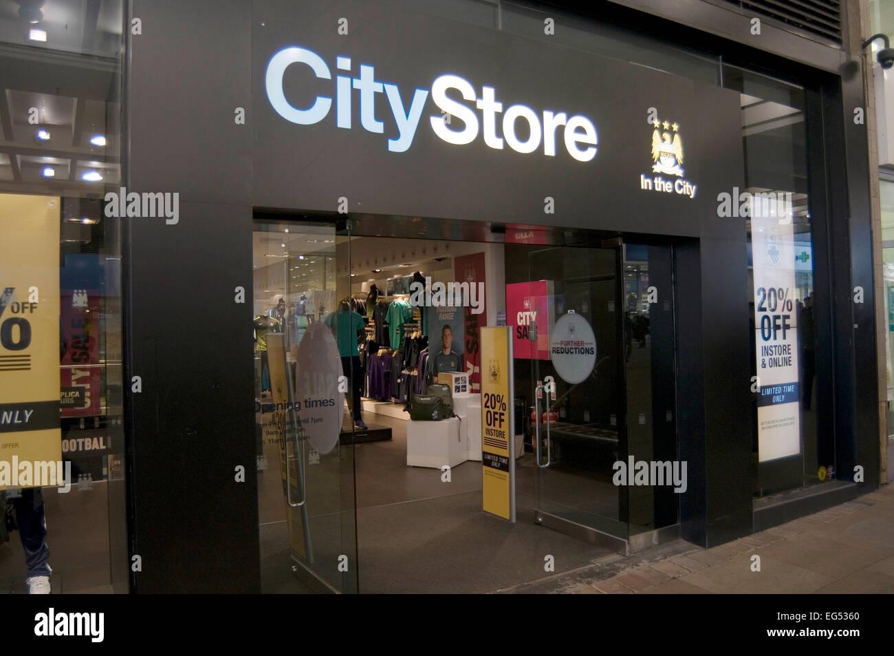 Manchester City Merchandise Football Shirt Shirts Shop Shops Retail