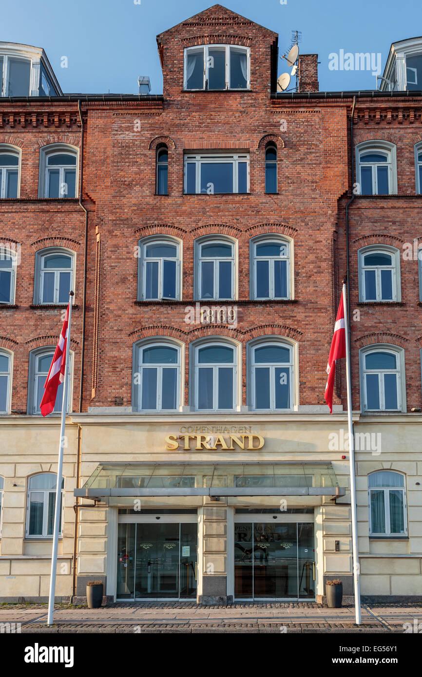 Copenhagen Strand Hotel Copenhagen Denmark Stock Photo Alamy