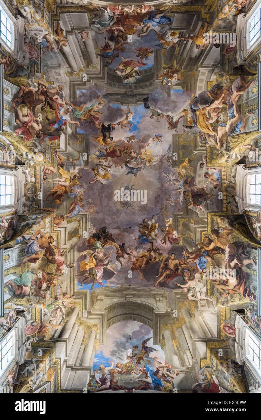 Rome Italy Church Of St Ignatius Of Loyola At Campus Martius