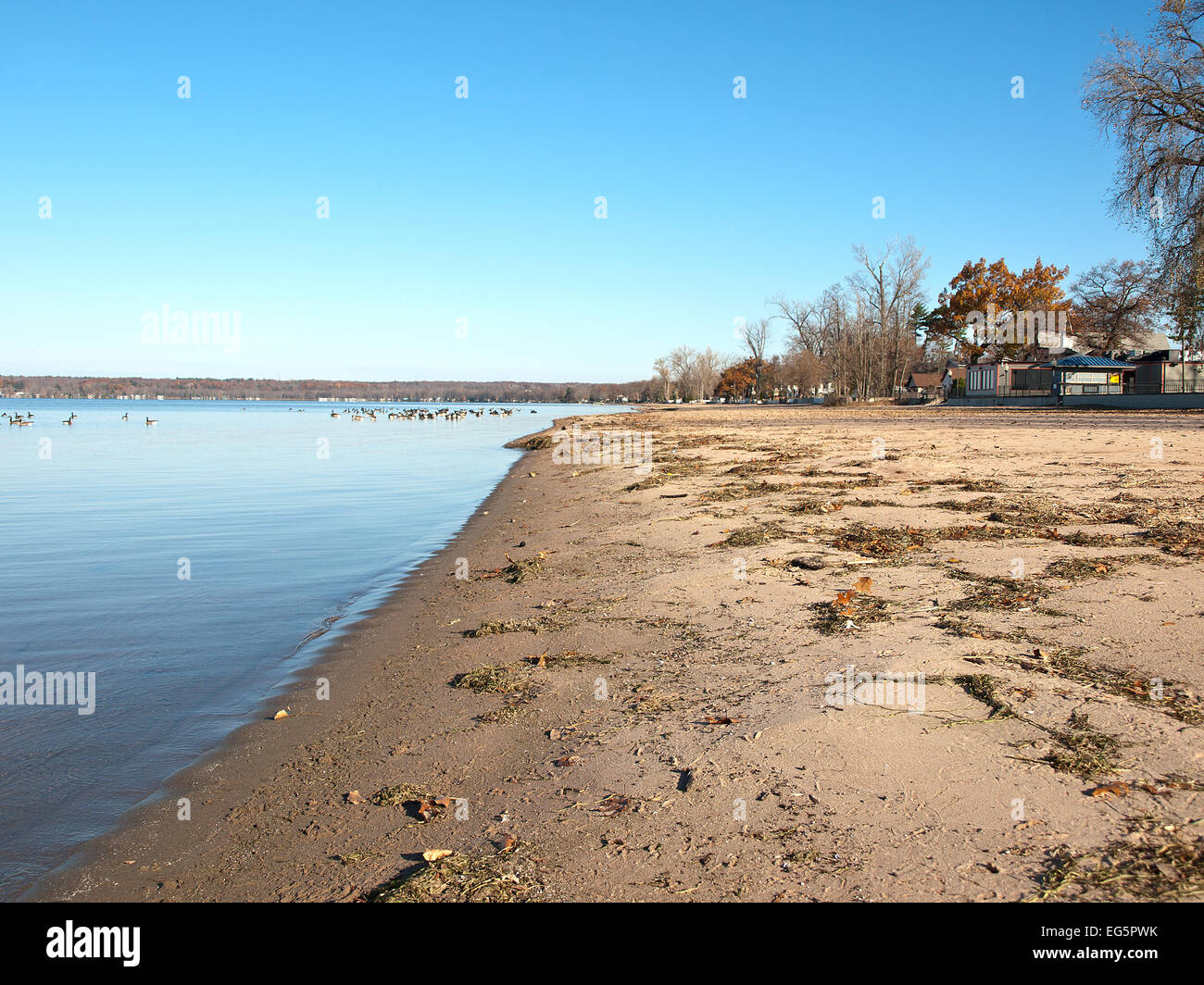 Sylvan Beach, New York - Stock Image