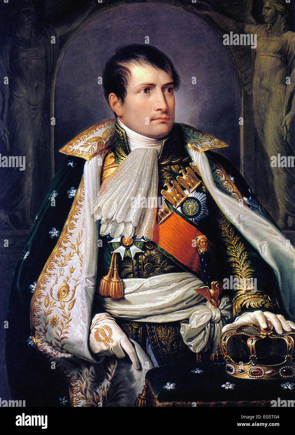 Andrea Appiani  Napoleon, King of Italy - Stock Image