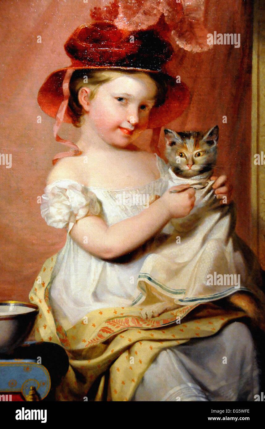 Samuel Finley Breese Morse  Little Miss Hone - Stock Image