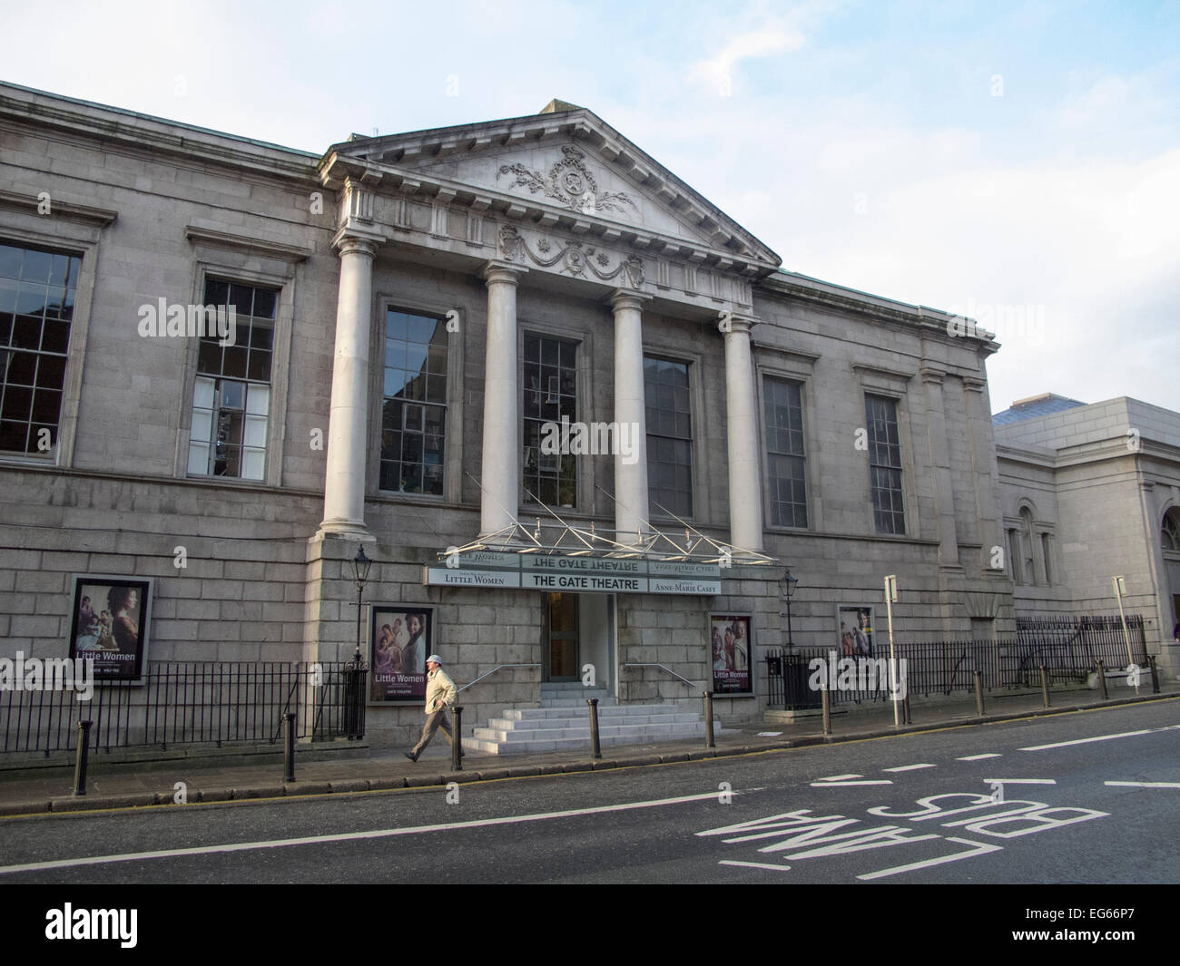The Historic Gate Theatre in Dublin Ireland Stock Photo