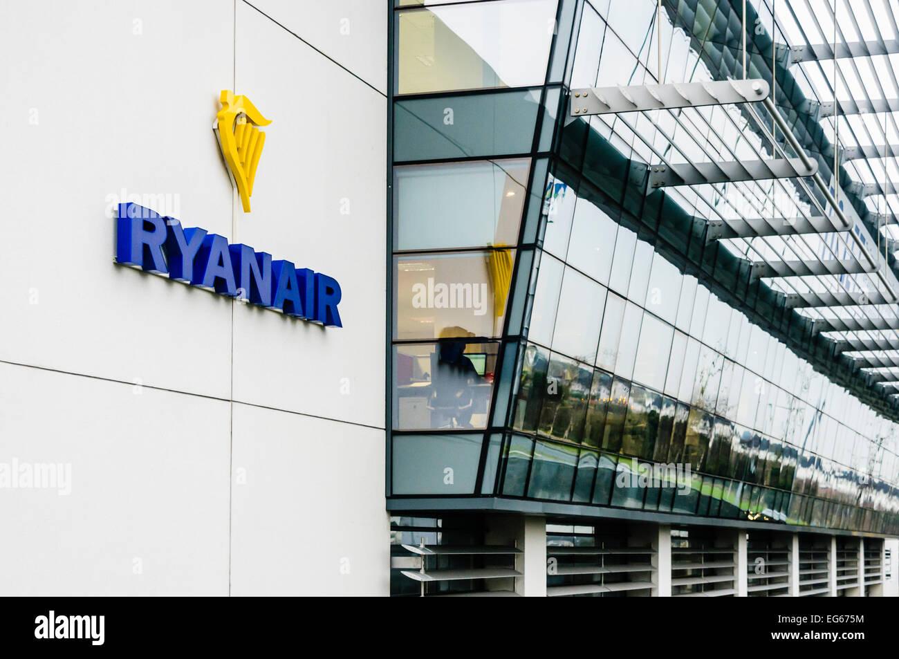 Ryanair Corporate Headquarters, Airside Business Park, Swords, Dublin - Stock Image
