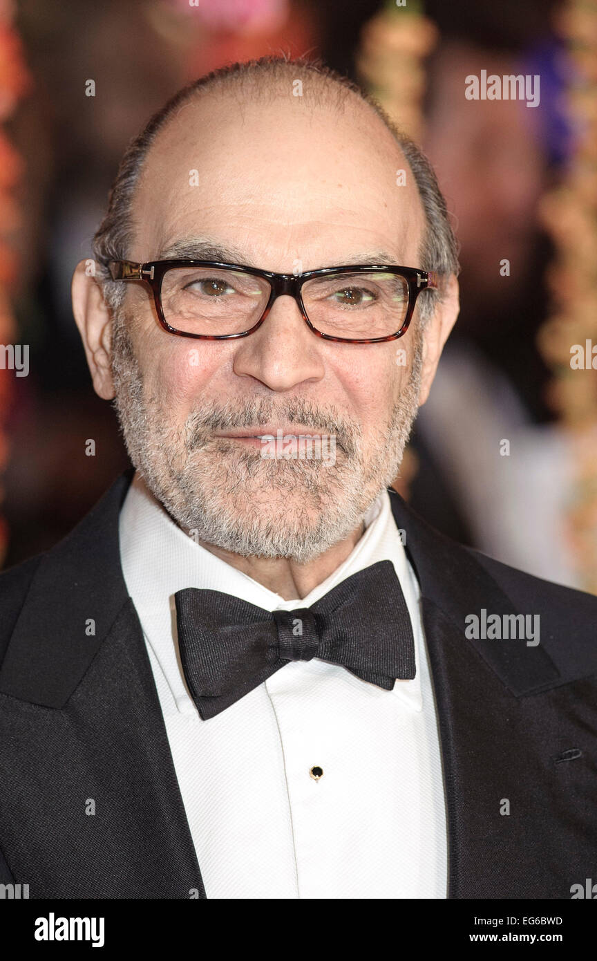 London, UK. 17th Feb, 2015. David Suchet attends the The Royal Film Performance: The World Premiere of The Second - Stock Image