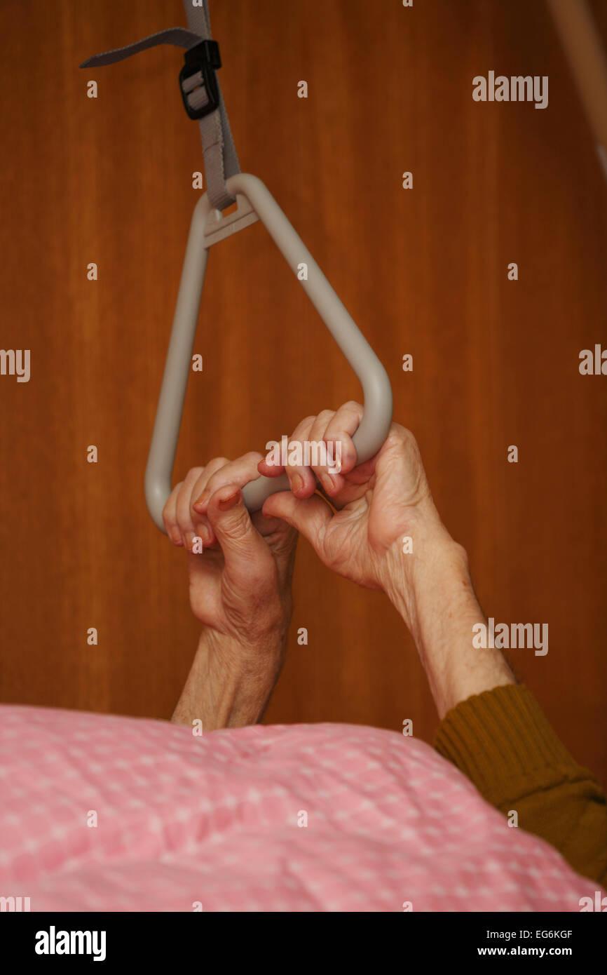 GER, 20150215, Elderly man Stock Photo