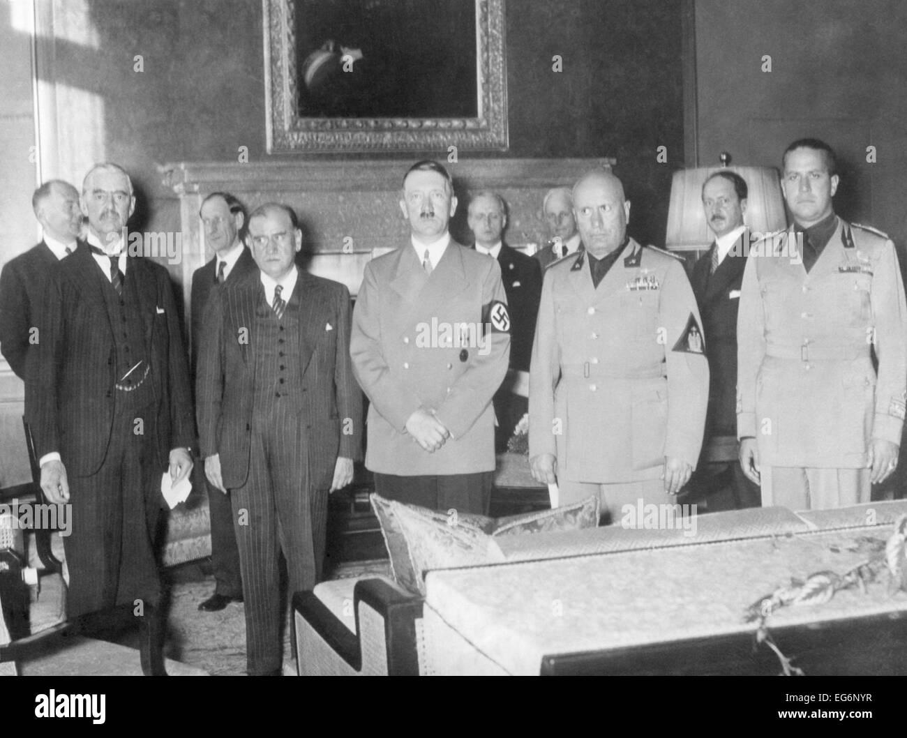 Benito Mussolini And Adolf Hitler Munich Stock Photos Benito