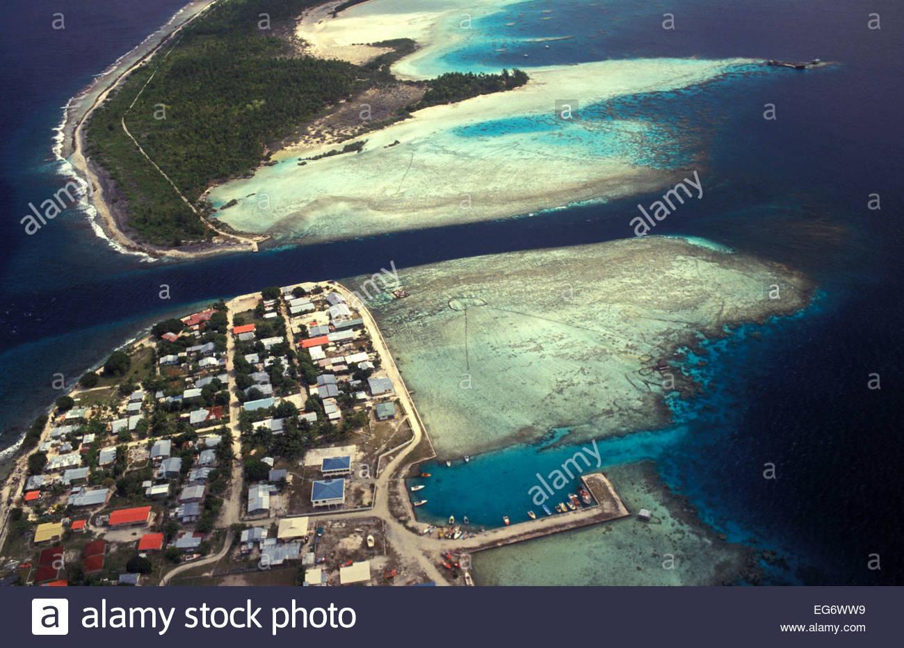 Manihi, French Polynesia - Stock Image